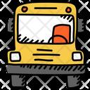 School Bus School Van School Transport Icon