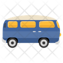 School Van School Conveyance Transport Icon