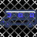 School Van Local Transport Public Transport Icon