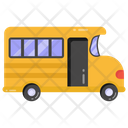 School Bus School Van Autobus Icon