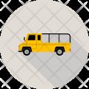 Bus School Vehicle Icon