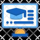 School Website Classroom E Learning Icon