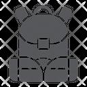 Schoolbag Rucksack Bag Icon