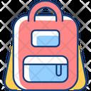 Schoolbag Backpack School Icon