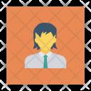 Schoolboy Avatar Learning Icon