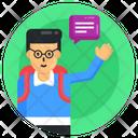 Learner School Student Schoolboy Icon