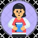 Learner School Student Schoolgirl Icon