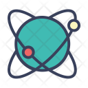 Science Research Atom Icon