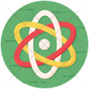 Orbit Science Atomic Model Icon