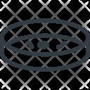 Science Petri Dish Icon