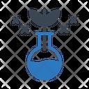 Beaker Flask Experiment Icon
