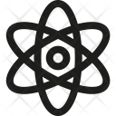 Atom Science Biology Icon