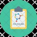Science Atom Clipboard Icon