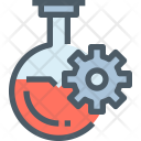 Flasks Research Science Icon