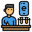 Science Lab Online Icon