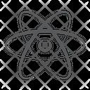 Science Molecular Network Cell Bonding Icon