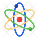 Science Electron Atomic Symbol Icon