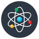 Science Atom Orbit Icon