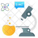 Science Science Research Microscopic Research Icon