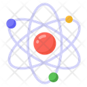 Atom Electrocn Science Icon