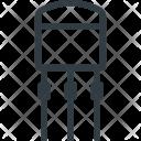 Science Electronics Transistor Icon