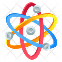 Atom Physics Science Icon