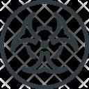 Science Bio Biohazzard Icon