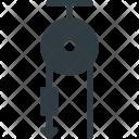 Science Pulley Graviti Icon