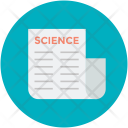 Science Research Paper Icon