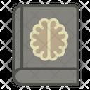 Science Book Brain Icon