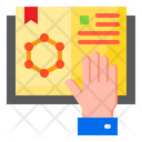 Science Book Research Lab Icon