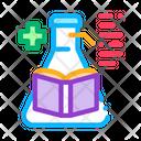 Science Book Medical Book Medicine Icon
