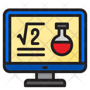 Science Class Teach Science Icon