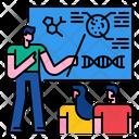Science Class Presentation University Icon