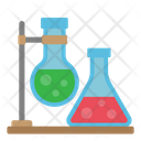 Science Experiment Chemical Flask Laboratory Equipment Icon