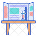 Science Fair Science Experiment Science Exibition Icon