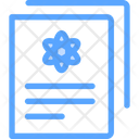 Science Paper Icon