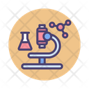 Science Research Physics Microscope Icon