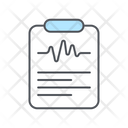 Science Result Science Report Report Icon