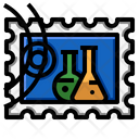 Science Stamp Icon
