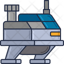 Mscience Station Science Station International Space Station Icon