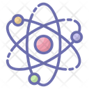 Atom Molecule Science Symbol Icon