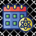 Scientific Calendar Icon