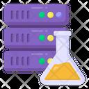 Lab Database Scientific Data Datacenter Icon
