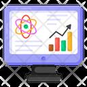 Data Analytics Scientific Data Scientific Analysis Icon