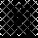 Scientific Experiment Test Tube Laboratory Icon