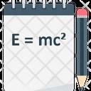 Emc 2 Scientific Formula School Board Icon