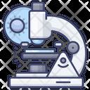 Scientific Microscope Icon