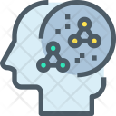Scientific Study Brain Icon