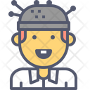 Scientist Experiment Brain Icon